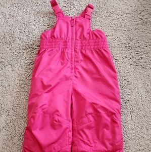 🔥EUC Pink Toddler Size 2T Snowpants